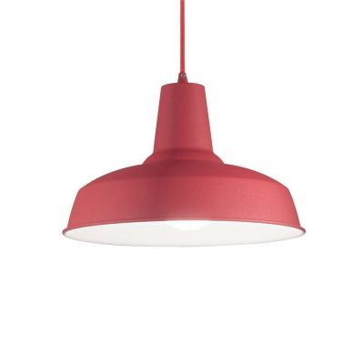 Подвесной светильник Ideal Lux Moby SP1 Rosso